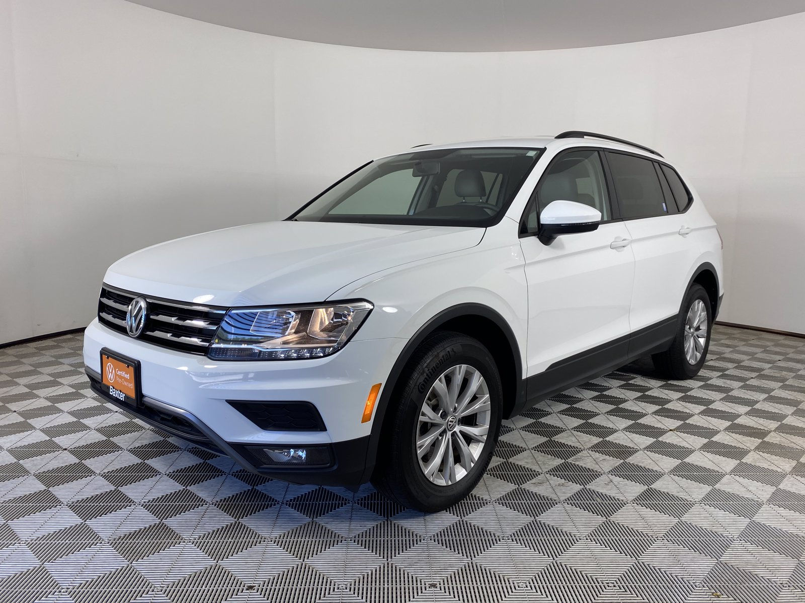 Certified Pre-Owned 2018 Volkswagen Tiguan 2.0T S 4MOTION