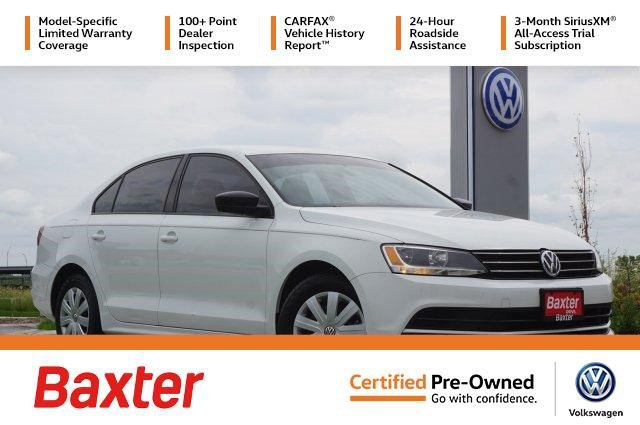 Certified Pre-Owned 2016 Volkswagen Jetta 4dr Auto 1.4T S