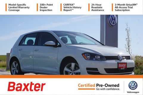 Certified Pre-Owned 2017 Volkswagen Golf 1.8T 4-Door Wolfsburg Edition Manua