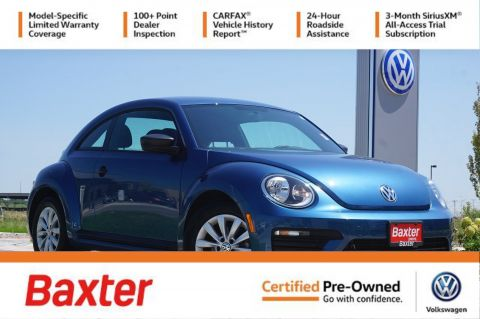 Certified Pre-Owned 2018 Volkswagen Beetle S Auto